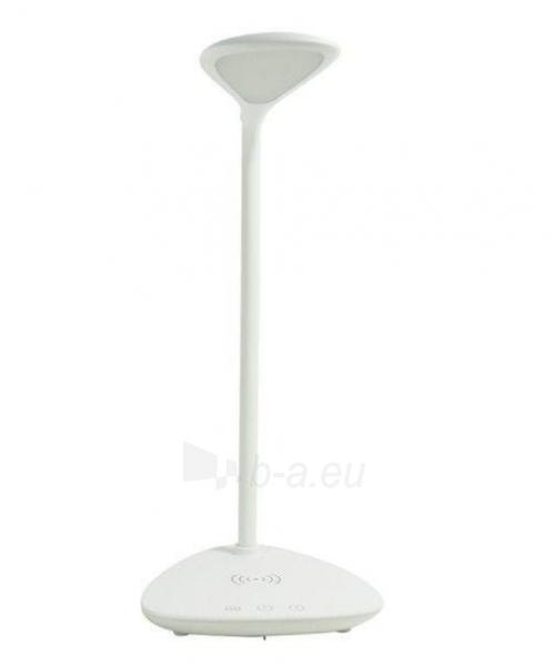 Techly LED stalinė lempa 40 diodų 7W 2700K/6500K su QI belaidžiu įkrovikliu Paveikslėlis 3 iš 7 310820118530