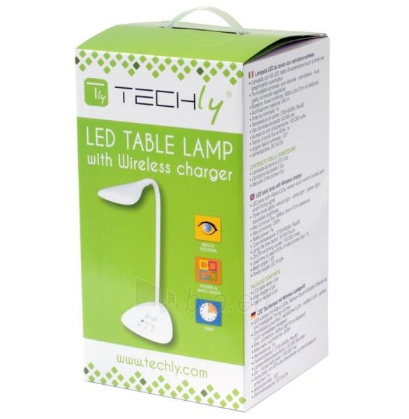 Techly LED stalinė lempa 40 diodų 7W 2700K/6500K su QI belaidžiu įkrovikliu Paveikslėlis 6 iš 7 310820118530
