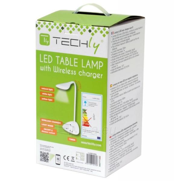 Techly LED stalinė lempa 40 diodų 7W 2700K/6500K su QI belaidžiu įkrovikliu Paveikslėlis 7 iš 7 310820118530