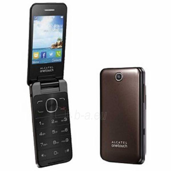 Mobile phone Alcatel 2012D One Touch Dual Sim dark chocolate DE Paveikslėlis 1 iš 1 310820000849