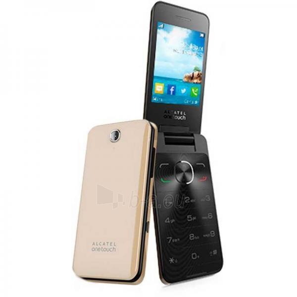 Telefonas Alcatel 2012D One Touch Dual Sim soft gold DE Paveikslėlis 1 iš 1 310820000850