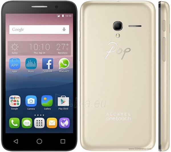 Mobile phone Alcatel Pop 3 (5) 5015D 8GB black leather touch DE null Paveikslėlis 1 iš 1 310820001828