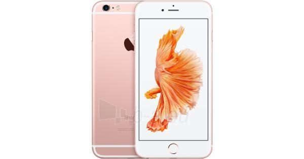 Mobile phone Apple iPhone 6s Plus 4G 128GB rose gold EU Paveikslėlis 1 iš 1 310820000526
