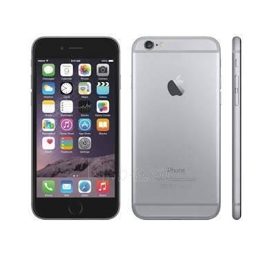 Telefonas Apple iPhone 6s Plus 4G 128GB space gray EU Paveikslėlis 1 iš 1 310820000523