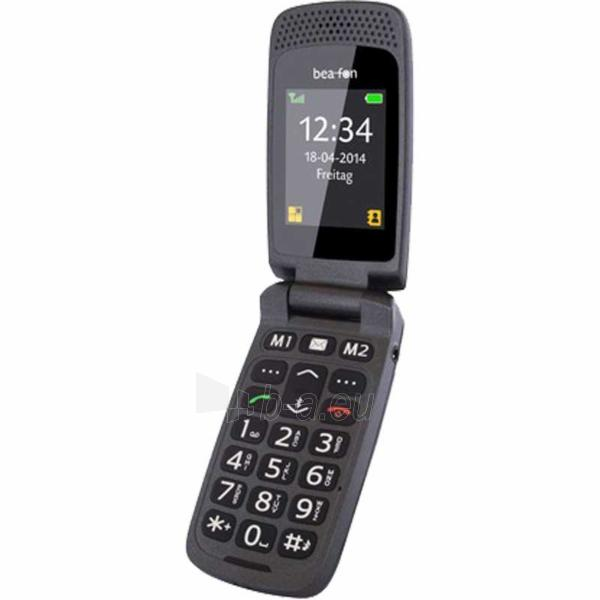 Mobile phone Beafon Classic Line SL470 black DE Paveikslėlis 1 iš 1 310820000589