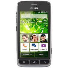 Mobilais telefons Doro Liberto 820 8GB black DE null Paveikslėlis 1 iš 1 310820001860