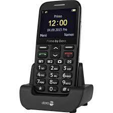 Mobilais telefons Doro Primo 366 black DE null Paveikslėlis 1 iš 1 310820001509
