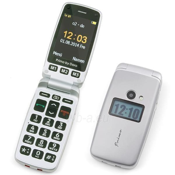 Mobilais telefons Doro Primo 413 silver DE null Paveikslėlis 1 iš 2 310820000417
