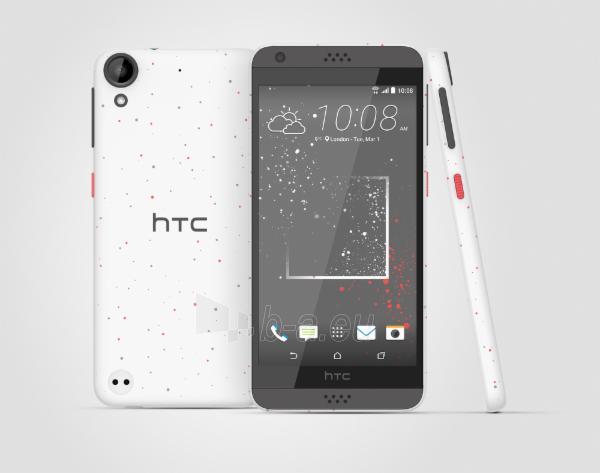 Mobile phone HTC Desire 530 4G 16GB sprinkle white DE null Paveikslėlis 1 iš 1 310820002163