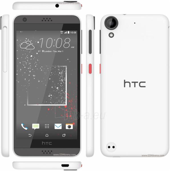 Telefonas HTC Desire 530 4G 16GB stratus white EU null Paveikslėlis 1 iš 1 310820002289