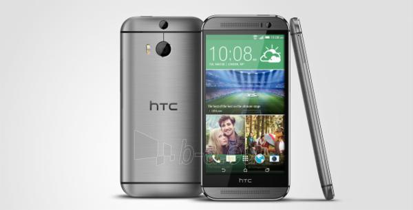 Mobilais telefons HTC One M8 4G NFC 16GB glacial silver DE null Paveikslėlis 1 iš 1 310820000411
