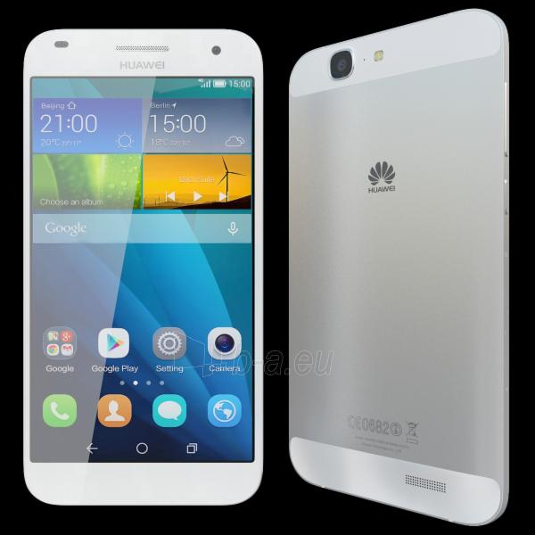 Telefonas Huawei Ascend G7 4G 16GB silver DE null Paveikslėlis 1 iš 1 310820000422