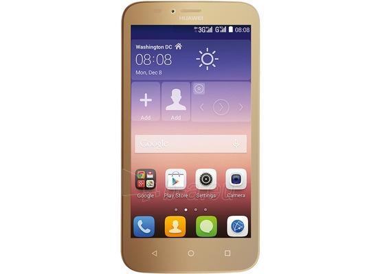 Mobile phone Huawei Ascend Y625 Dual Sim gold DE Paveikslėlis 1 iš 1 310820000608