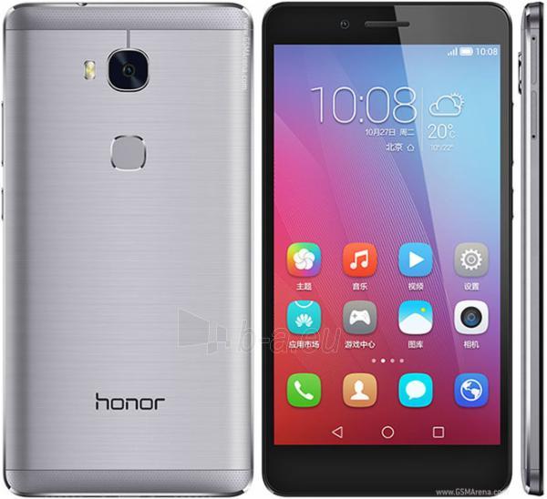 Mobile phone Huawei Honor 5X 4G 16GB Dual Sim grey EU null Paveikslėlis 1 iš 1 310820001588
