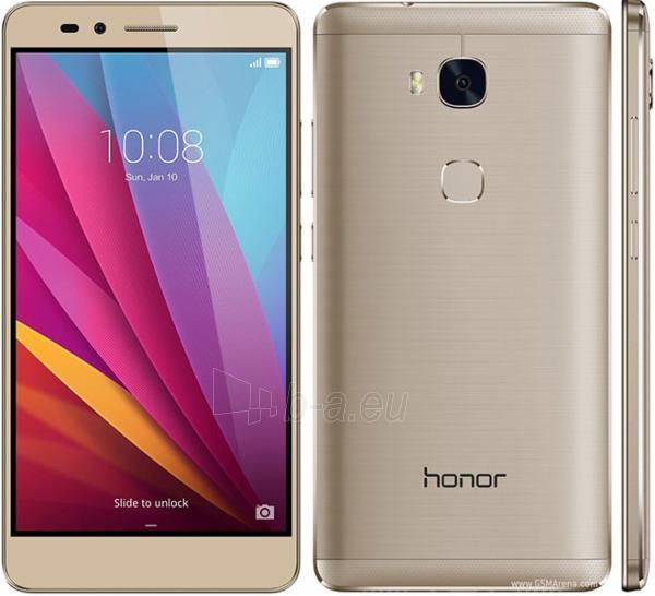 Telefonas Huawei Honor 5X 4G 16GB Dual Sim silver DE null Paveikslėlis 1 iš 1 310820001928