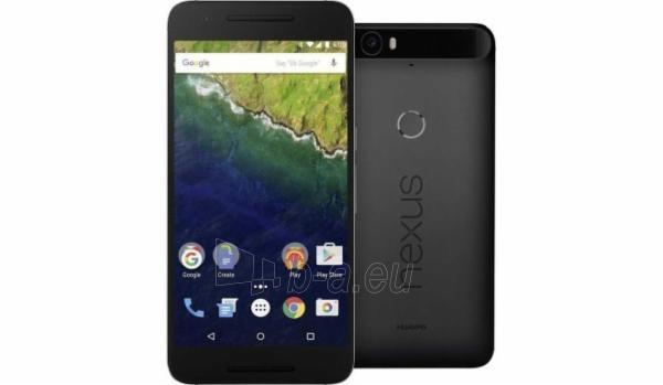 Telefonas Huawei Nexus 6P 4G 64GB gray DE Paveikslėlis 1 iš 1 310820000981