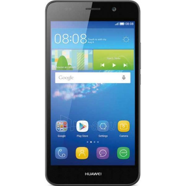 Telefonas Huawei Y6 4G black EU Paveikslėlis 1 iš 1 310820000521