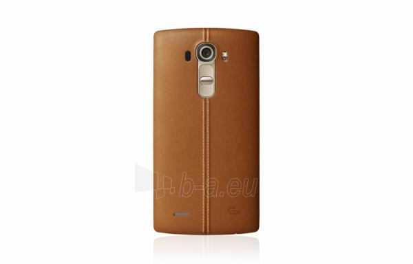 Mobilais telefons LG H815 G4 4G 32GB black leather incl. extra gold cover O2 DE null Paveikslėlis 2 iš 2 310820002161