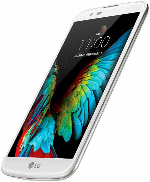 Mobile phone LG K10 4G 16GB white EU null Paveikslėlis 1 iš 1 310820001419