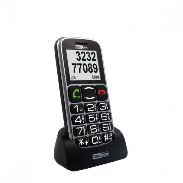 Telefonas MaxCom MM461BB LV/RUS/ENG  black Paveikslėlis 1 iš 1 310820012120