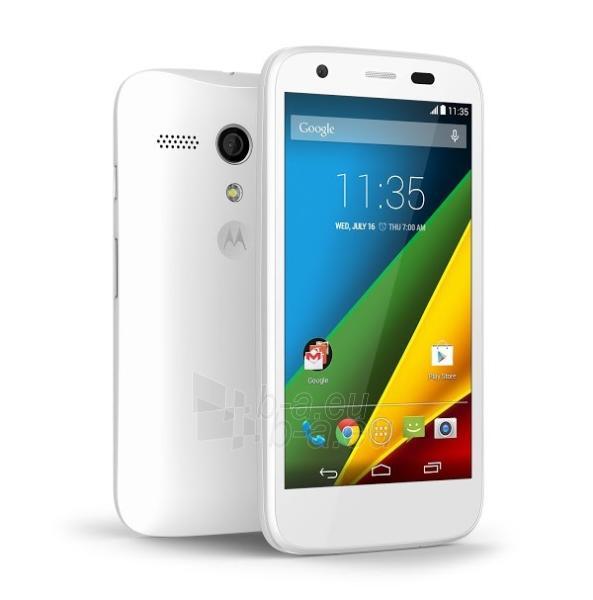 Telefonas Motorola Moto E 2nd Generation XT1524 4G 8GB white EU null Paveikslėlis 1 iš 1 310820001283
