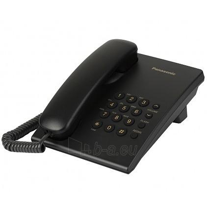 Telefonas PANASONIC KX-TS500FXB Paveikslėlis 1 iš 1 250234000017