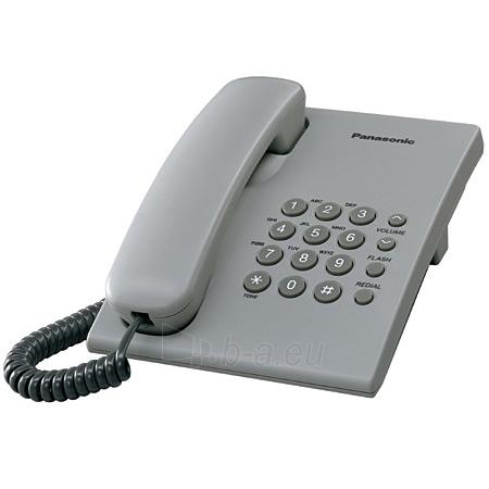 Telefonas PANASONIC KX-TS500FXH Paveikslėlis 1 iš 1 250234000019