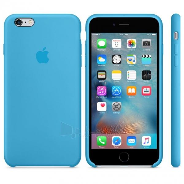 Telefono dėklas Apple iPhone 6 Plus/6S Plus Silicon Case Blister MKXP2ZM/A zils - blue Paveikslėlis 1 iš 1 310820039941