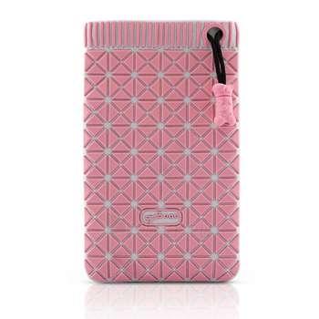 BONE BAG FOR MOBILE PHONE PINK Paveikslėlis 1 iš 1 250232000076
