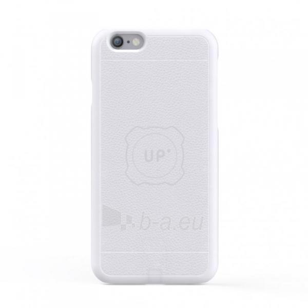 Telefono dėklas Exelium UPMAi6SW - Magnetic case for iPhone 6/6S - White Paveikslėlis 1 iš 1 310820044125