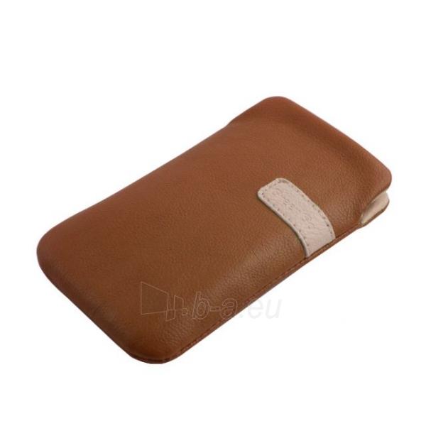 Telefono dėklas GreenGo Samsung I9300 Galaxy S3 Fiesta XXXL brown Paveikslėlis 1 iš 1 310820039777