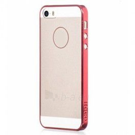 Telefono dėklas HOCO Apple iPhone 5/5S Coupe Series bumper HI-P024 pink HOCO Paveikslėlis 1 iš 1 310820012871