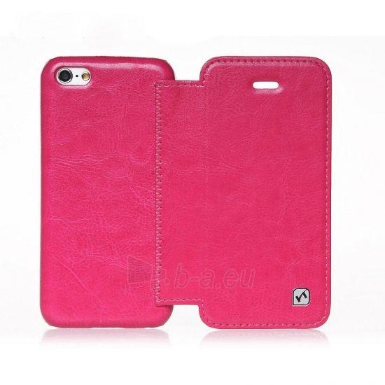 Telefono dėklas HOCO Apple iPhone 5/5S Crystal Folder Series HI-L029 HOCO rose red Paveikslėlis 1 iš 1 310820012783