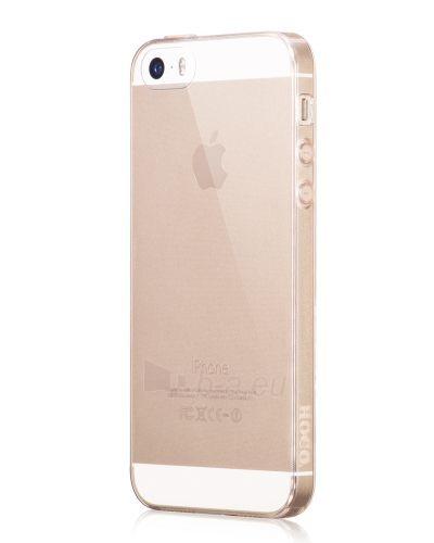 Telefono dėklas HOCO Apple iPhone 5/5S Light series TPU HOCO zelts - gold Paveikslėlis 1 iš 1 310820012777