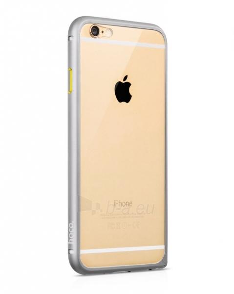 Telefono dėklas HOCO Apple iPhone 6 Blade Series Aluminium Bumper HI-T022 gray HOCO Paveikslėlis 1 iš 1 310820012856