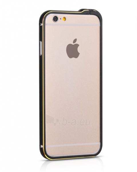 Telefono dėklas HOCO Apple iPhone 6 Blade Series Fedora Metal Bumper HI-T026 black HOCO Paveikslėlis 1 iš 1 310820012828