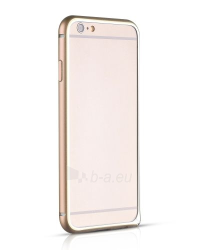 Telefono dėklas HOCO Apple iPhone 6 Blade series Hippocampal Buckle Metal Bumper HI-T025 gold HOCO Paveikslėlis 1 iš 1 310820012852