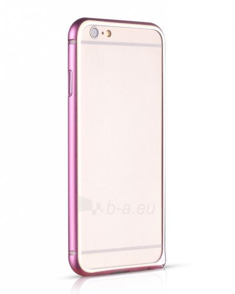 Telefono dėklas HOCO Apple iPhone 6 Blade Series Hippocampal Buckle Metal Bumper HI-T025 pink HOCO Paveikslėlis 1 iš 1 310820012833