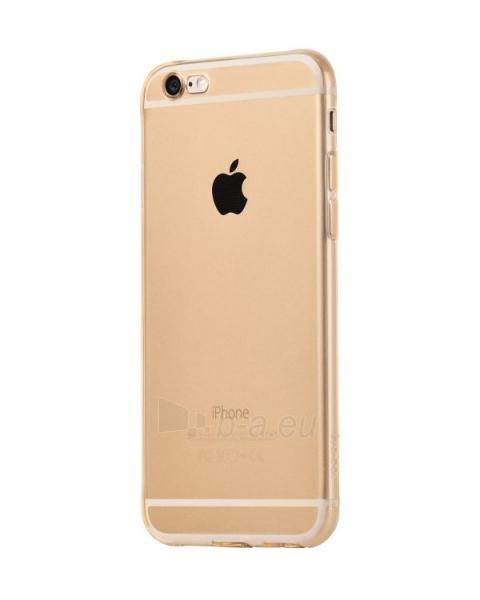Telefono dėklas HOCO Apple iPhone 6 Light series TPU gold HOCO Paveikslėlis 1 iš 1 310820012790