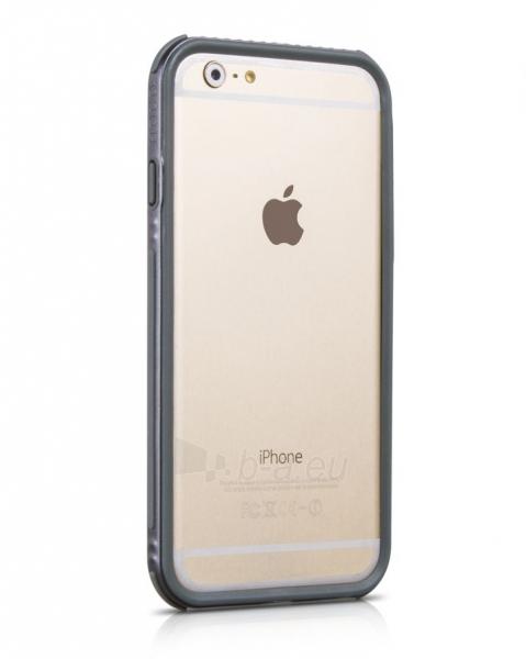 Telefono dėklas HOCO Apple iPhone 6 Moving Shock-proof Silicon Bumper HI-T028 HOCO pelēks - gray Paveikslėlis 1 iš 1 310820012826
