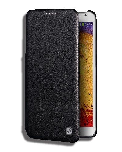 Telefono dėklas HOCO Samsung N9000 / N9005 Galaxy Note 3 Duke Folder Series HOCO melns - black Paveikslėlis 1 iš 1 310820039834