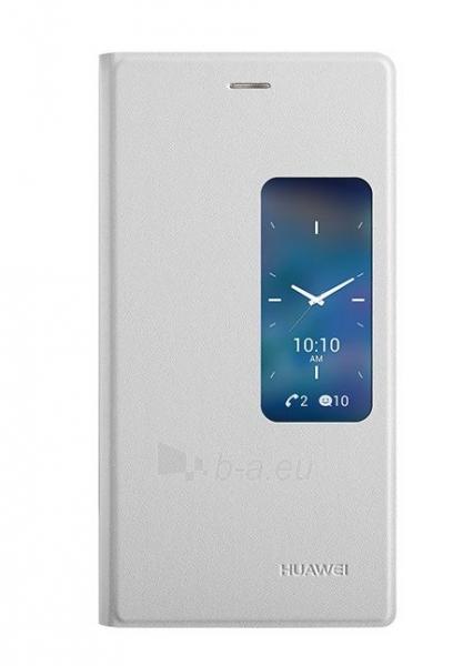 Telefono dėklas Huawei Ascend P7 View Cover balts - white Paveikslėlis 1 iš 1 310820012909