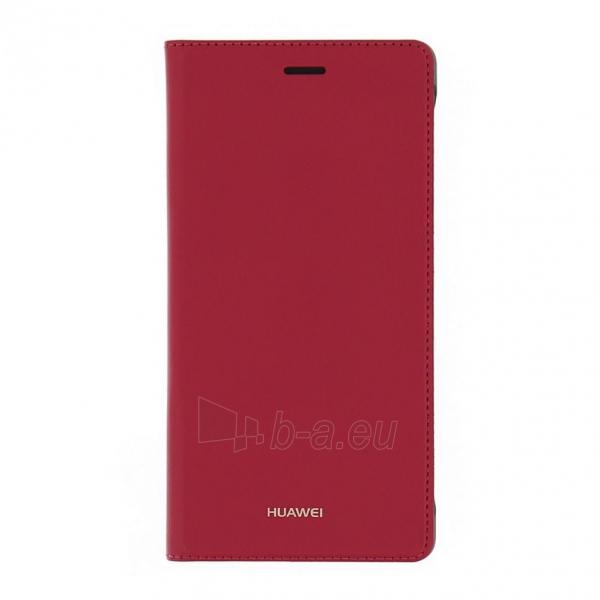 Telefono dėklas Huawei Flip Cover for Huawei P8 Lite red Paveikslėlis 1 iš 1 310820013140