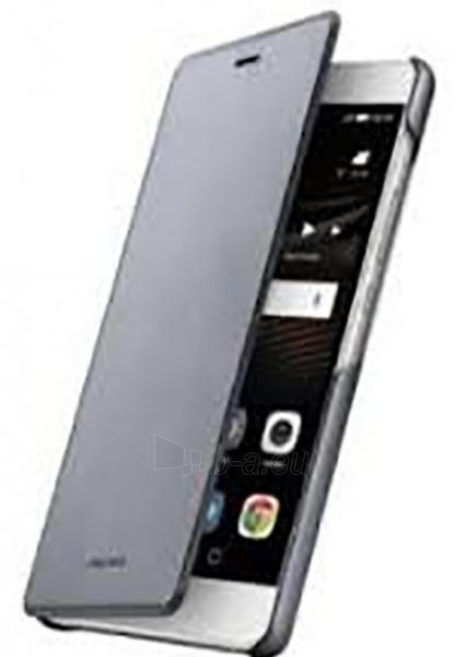 Telefono dėklas HUAWEI Flip Cover for Huawei P9 Lite (Gray) Paveikslėlis 1 iš 2 310820016232