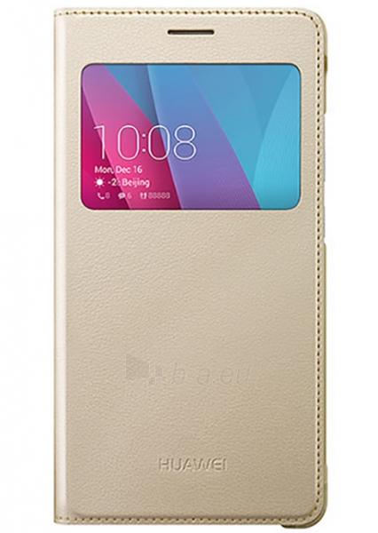 Telefono dėklas HUAWEI Smart Cover for Huawei Honor 5x (Gold) Paveikslėlis 1 iš 1 310820016142