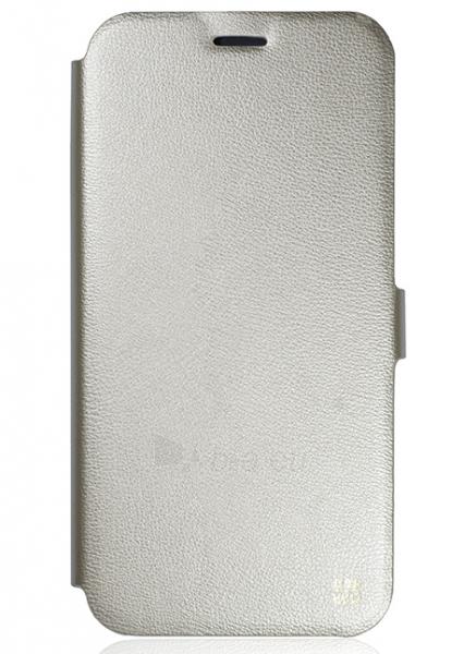 Telefono dėklas Just Must Flip case Slim for Samsung Galaxy S7 Edge G935 (Gold) Paveikslėlis 1 iš 2 310820016175