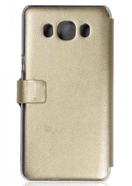 Telefono dėklas Just Must Flip case Slim Samsung Galaxy J5 (2016) J510 (Gold) Paveikslėlis 1 iš 2 310820016216