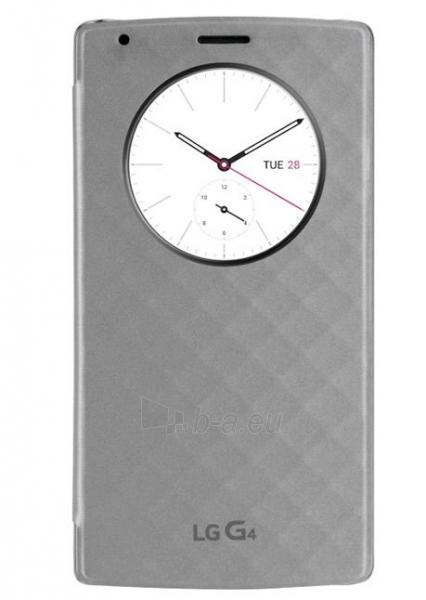 Telefono dėklas LG H815 G4 Quick Window Case CFV-100 AGEUSV black Paveikslėlis 1 iš 1 310820013098