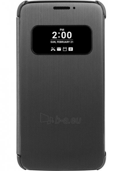 Telefono dėklas LG Mesh Folio Case for LG G5 H850 (Titan) Paveikslėlis 1 iš 3 310820016223