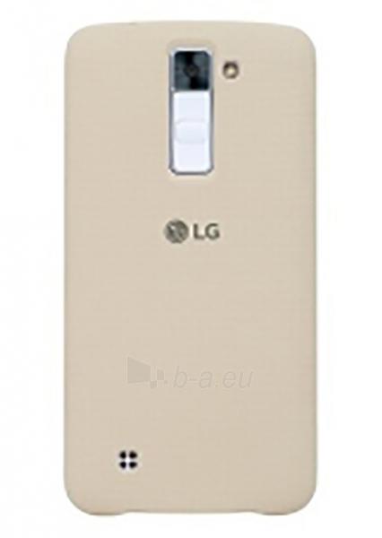 Telefono dėklas LG Snap on Case for LG K8 K350N (Ivory) Paveikslėlis 1 iš 1 310820016226